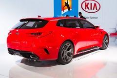 KIA Sportcoupe Concept 2015 Fotografia Stock Libera da Diritti