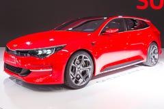KIA Sportcoupe Concept 2015 Immagini Stock Libere da Diritti