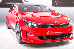 2015 KIA Sportcoupe Concept. Geneva, Switzerland - March 4, 2015: 2015 KIA Sportcoupe Concept presented on the 85th International Geneva Motor Show Royalty Free Stock Photography