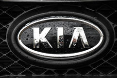 Kia symbol Stock Image