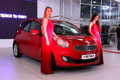 KIA Venga Royalty Free Stock Photo