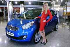 KIA Venga  Stock Photos