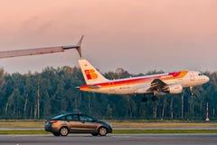 KIA y Airbus Fotografía de archivo libre de regalías