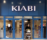Kiabi shop Royalty Free Stock Photography