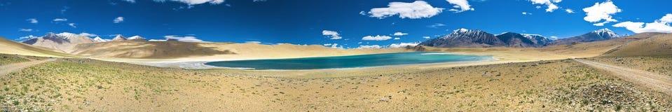 kiagar湖tso 图库摄影