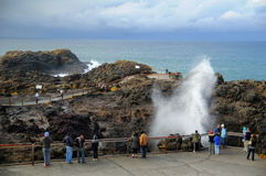 Kiama Blowhole Royalty Free Stock Photos