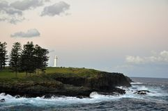 Kiama lighthouse  sunset Stock Images