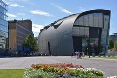 Kiasma muzeum sztuki, Helsinki Finlandia Zdjęcia Royalty Free