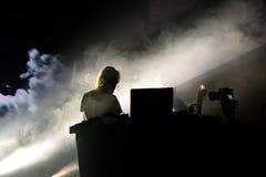Kiasmos minimalny i eksperymentalny techno duet w koncercie przy sonaru festiwalem Obrazy Stock