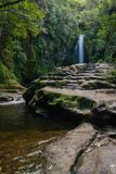 Kiate nedgångar i Tauranga Royaltyfri Bild