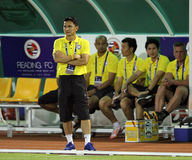 Kiatisuk Senamuang head coach of Thailand Royalty Free Stock Photo