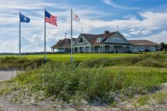 Kiawah's Ocean Course Club House Royalty Free Stock Photos