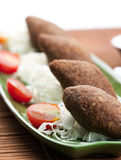 Kibbeh lebanese Stock Photos