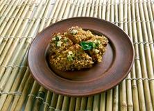 Kibbeh Levantine dish Royalty Free Stock Image