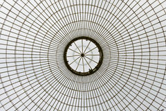 Kibble Palace, Glasgow Botanical Gardens, Scotland, UK. Glass roof structure of Kibble Palace, Glasgow Botanical Gardens, Scotland, UK Stock Photography