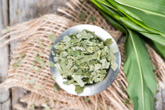 Kibbled Ramson Stock Images
