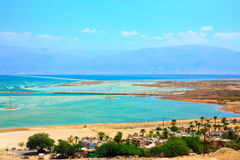 Kibbutz on the bank of the Dead Sea. Israel Stock Images