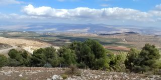 Kibbutzer Malkia Arkivbilder