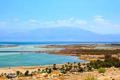 Kibbuzim auf der Bank des Toten Meers Stockfotografie