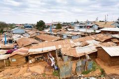 Free Kibera Is The Biggest Slum In Africa. Slums In Nairobi, Kenya Stock Photography - 158637492