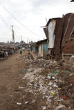 Kibera Kenia stock afbeeldingen