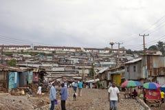 Kibera, Kenya Fotografia Stock Libera da Diritti