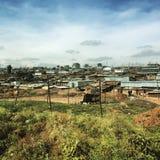Kibera in Nairobi, Kenya Royalty Free Stock Image
