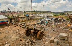 Kibera slum in Nairobi, Kenya. Stock Photography