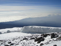 Kibo Glacier Stock Image