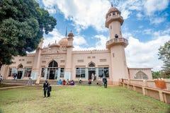 Kibuli mosque in Kampala city, Uganda. Kampala, Uganda- April 3, 2016: Kibuli mosque in Kampala city, Uganda Royalty Free Stock Photo