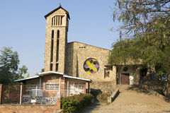 The Kibuye memorial church Stock Photo
