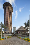 KICC Building in Nairobi, Kenya. The Kenyatta International Conference Centre, one of the few modern skyscrapers in the business district of Nairobi, Kenya. Shot royalty free stock photography