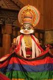 Kichaka dans le théâtre de Kathakali Photo libre de droits