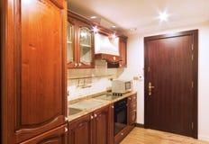 Kichen no apartamento Foto de Stock Royalty Free