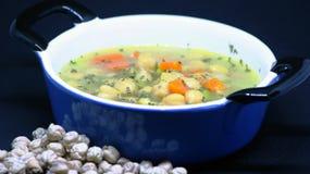 Kichererbseneintopfgericht Spanische Nahrung Stockfotos