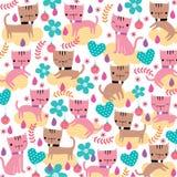 Kiciunia kota ilustracja Obrazy Stock