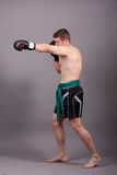 Kick-boxer Stock Photo