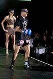 Kick-boxer Stock Photography