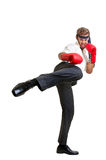 Kick Boxer Royalty Free Stock Photography