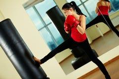Kick boxing Stock Image