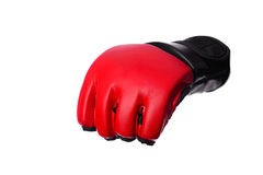 Kick-boxing gloves isolated on the white isolated. Kick-boxing gloves isolated on the white background Royalty Free Stock Photo