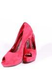 Kick-heeled skor Arkivfoton