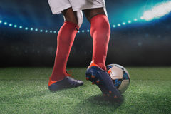 Kick off Stock Photo