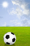 Kick off soccer Stock Images