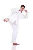 Kick ok martial art Royalty Free Stock Photos