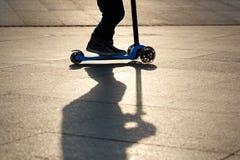 Kick scooter Stock Image