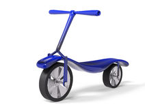 Kick scooter  3d render Royalty Free Stock Images