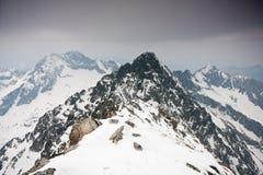 Kick Tatras royaltyfria foton
