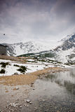 Kick Tatras royaltyfri fotografi