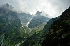 Kick Tatras i Slovakien arkivbild